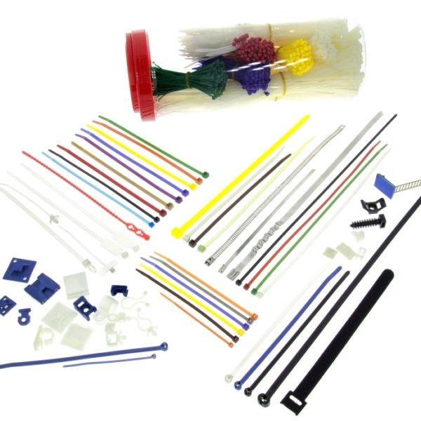 Kabelbinder und Bestestigung